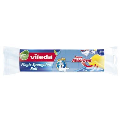 Vileda bayeta magic superabsorbente rollo de 1,5m.