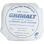 Grimalt queso semicurado mallorquin de 3,5kg. en pieza