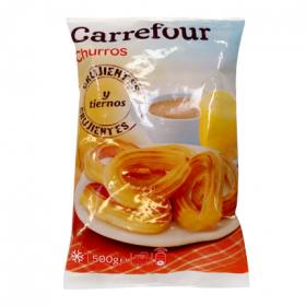 Carrefour churros lazo de 500g.