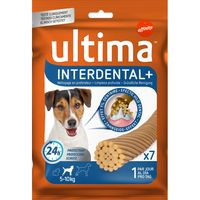 Ultima dog snacks interdental mini de 126g. por 13 unidades