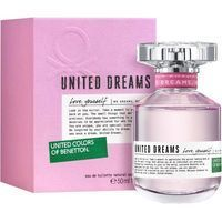 Eau toilette mujer love yourself vaporizador, benetton, de 50ml.