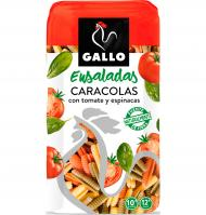 Gallo caracola vegetal de 500g.