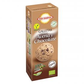 Bio Darma galletas avena con chocolate de 125g.