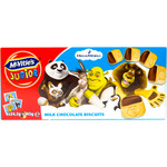 Mcvitie's junior dreamworks galletas con chocolate con leche de 145g. en caja