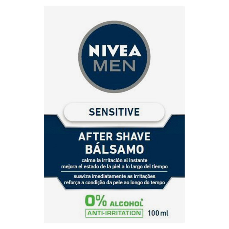 Nivea Men hombre after shave balsamo sensitive active comfort de 10cl. en bote
