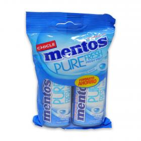 Mentos chicles sin azucar pure fresh 60