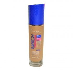 Rimmel base maquillaje liquido match perfection nº 400 natural beige