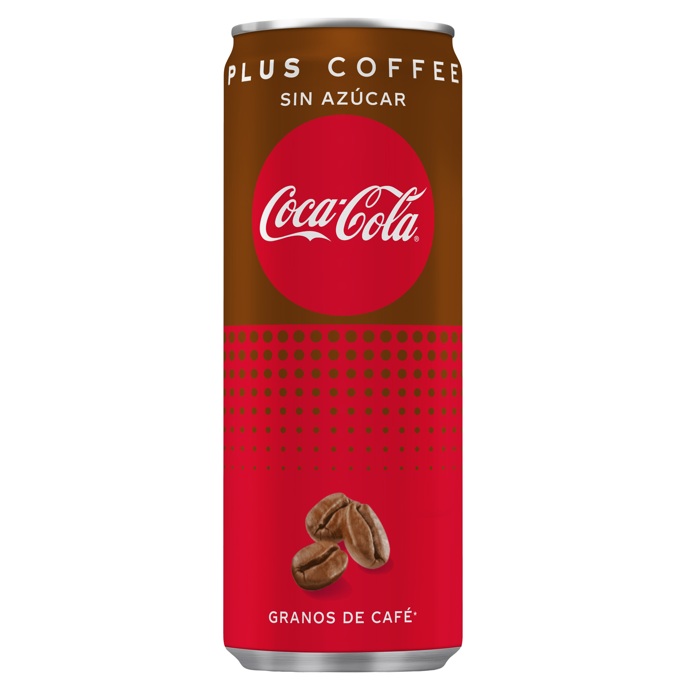 Coca Cola refresco cola plus coffee de 25cl.