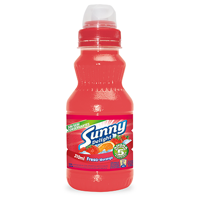 Sunny Delight refresco fresa de 31cl.