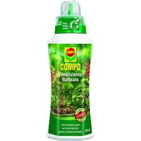 Compo fertilizante bonsais de 50cl. en botella
