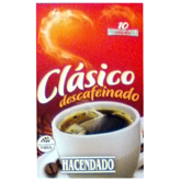 Hacendado cafe soluble descafeinado 10 sticks de 20g. en caja
