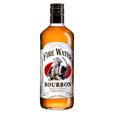 Fire Water bourbon de 70cl. en botella