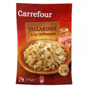 Carrefour tallarines carbonara