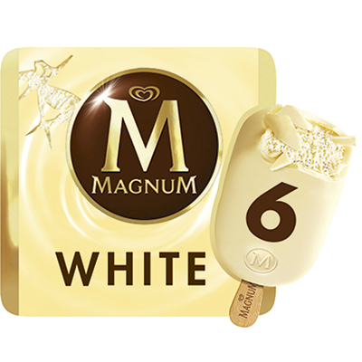 Magnum magnum blanco 110ml 6mp de 66cl. por 6 unidades