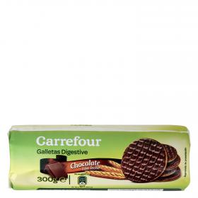 Carrefour chocolate de 300g.