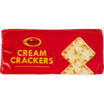 Crown cream crackers estuche de 200g.