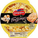 Campofrio finissimas pizza masa superfina 5 quesos envase de 335g.