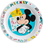Mickey plato decorado llano 22 cm