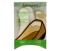 Salveped Love Your Feet protectores talon autoadhesivos gel silicona extra blanco 2 pares
