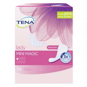 Tena Lady protegeslip perdidas orina muy leves mini magic 34