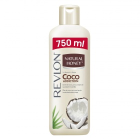 Natural Honey gel baño aceite coco de 75cl. en bote