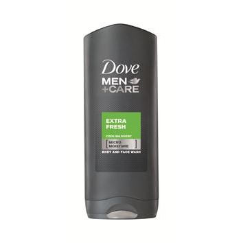 Dove gel baño extra fresh for men de 40cl. en bote
