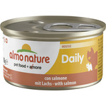 Almo Nature daily mousse salmon gatos de 85g. en lata