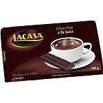Lacasa chocolate taza tableta de 300g.
