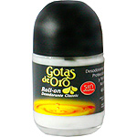 Instituto Español desodorante roll on gotas oro envase de 75ml.