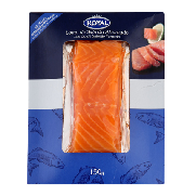 Royal lomo salmon ahumado de 150g.