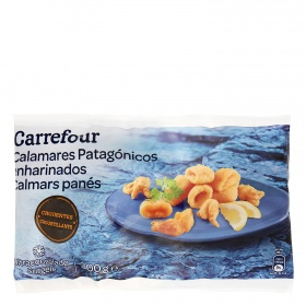 Carrefour chipiron enharinado de 300g.