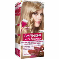 Garnier color sensation tinte rubio luminoso nº 8 0 coloracion permanente intensa pincel gratis en caja
