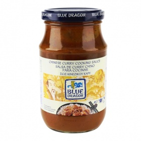 Blue Dragon salsa curry chino cocinar de 380g.