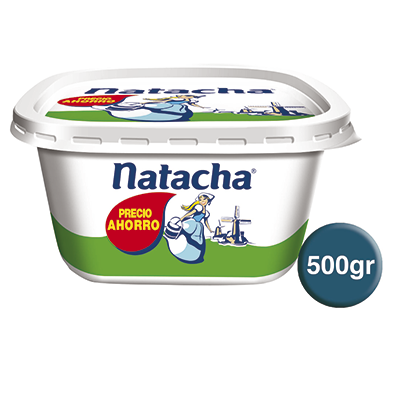 Natacha margarina vegetal de 500g.