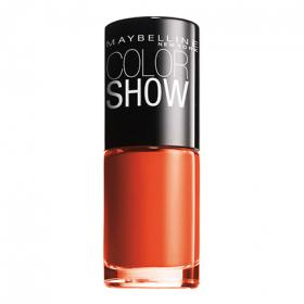 Maybelline laca uñas colorshow nº 341 orange attack