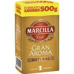 Marcilla cafe molido natural de 500g.