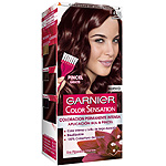 Color Sensation garnier tinte chocolate nº 4 15 coloracion permanente intensa pincel gratis en caja