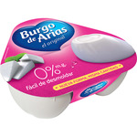 Burgo De Arias 0% queso fresco light natural mini envases de 72g. por 3 unidades
