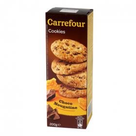 Carrefour galletas con chocolate nougatine de 200g.