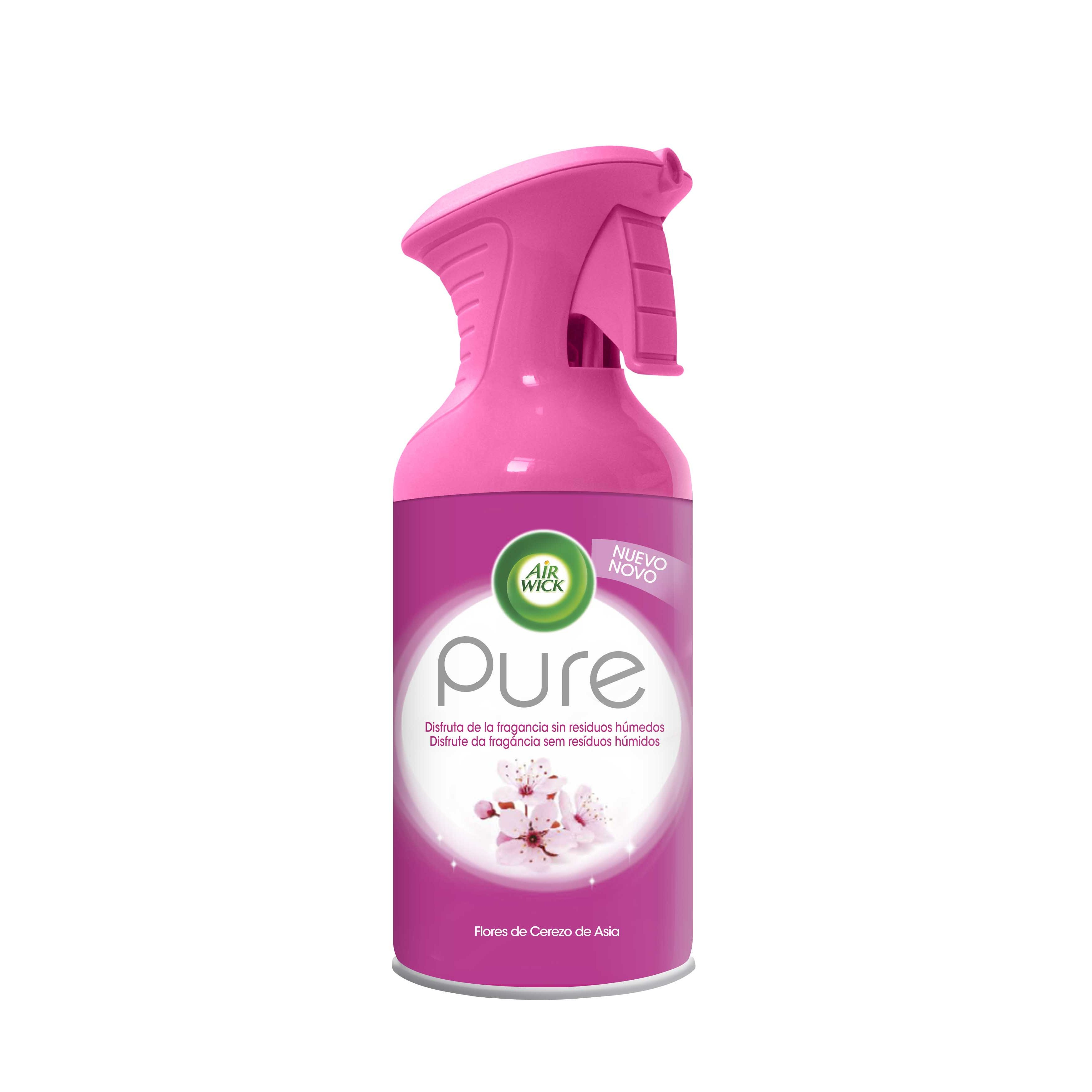 Air Wick pure flores cerezo asia aerosol de 25cl.