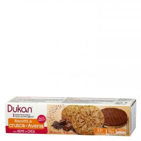 Dukan galletas chia chocolate de 160g.