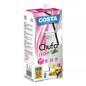 Costa bebida chufa light con stevia de 1l.