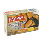 Pay Pay mejillon en escabeche 8/12 de 115g.