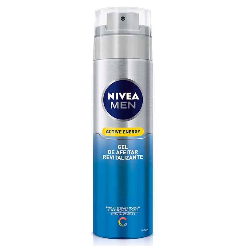 Nivea Men hombre skin energy gel afeitar q10 revitalizante instant effect de 20cl. en spray