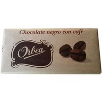 Orbea chocolate negro con cafe tableta de 125g.