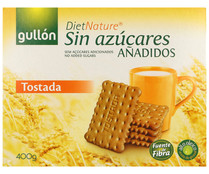 Diet Nature galleta tostada sin azucares añadidos diet nature de 400g.