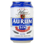 Aurum cerveza sin alcohol de 33cl. en lata