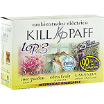 Kill Paff ambientador electrico top 3 rose garden eden fruit lavanda ades 3