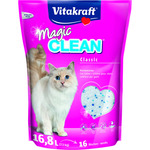 Vitakraft magic clean perlas gel silice gatos de 7,5kg. en bolsa