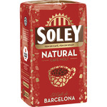 Soley cafe molido natural de 250g.